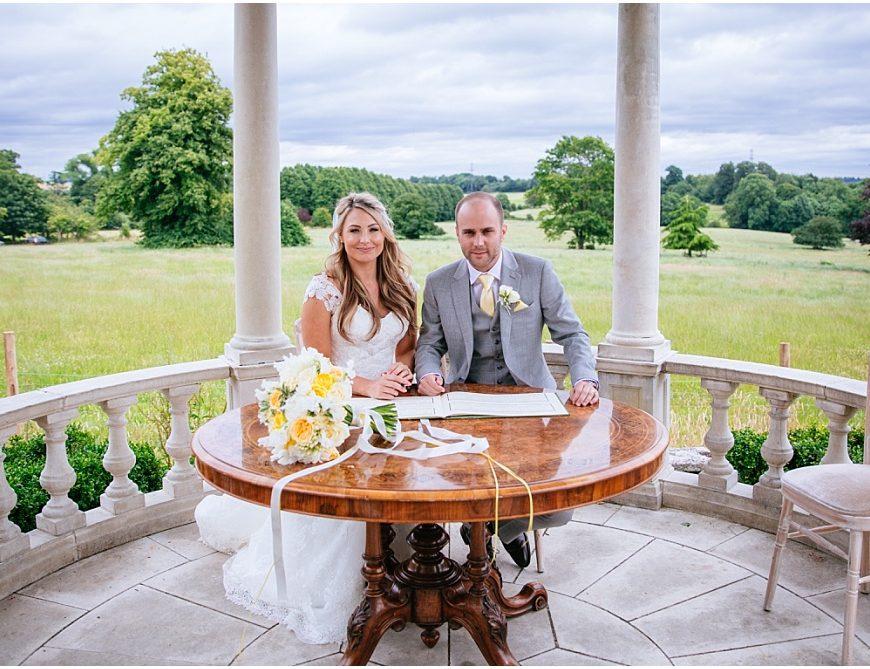 Froyle Park Wedding Photography – Rhianna & Charlie's yellow themed wedding!