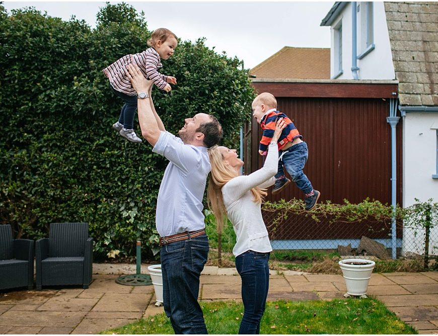 Surrey Family Photographer – a shoot with three generations!