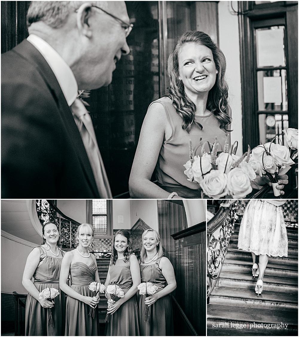 Bridesmaids in london wedding
