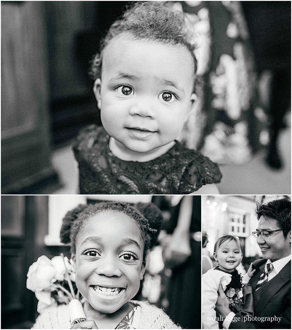 Cute wedding kids