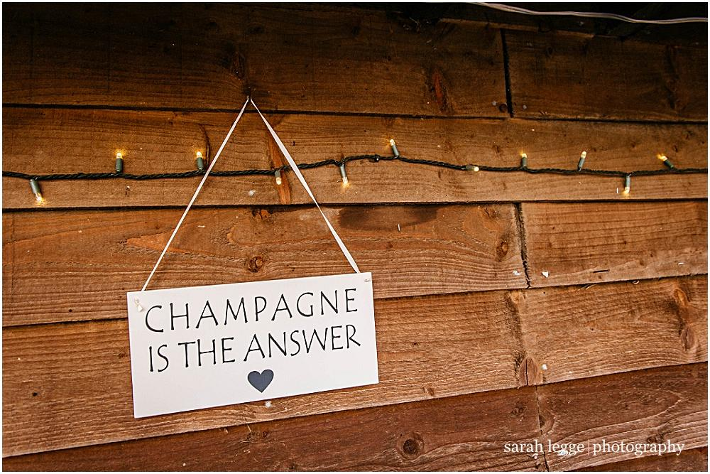 Champagne is indeed the answer