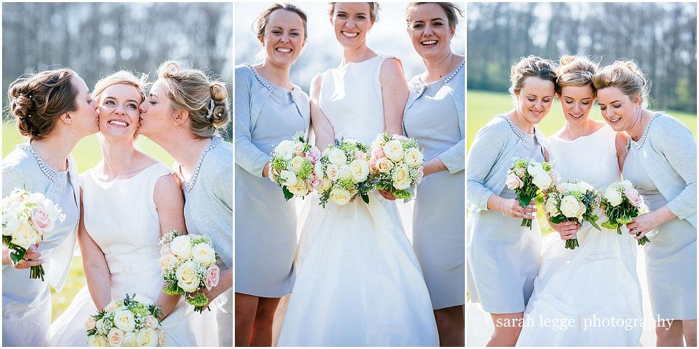 Fun bridesmaid photographs