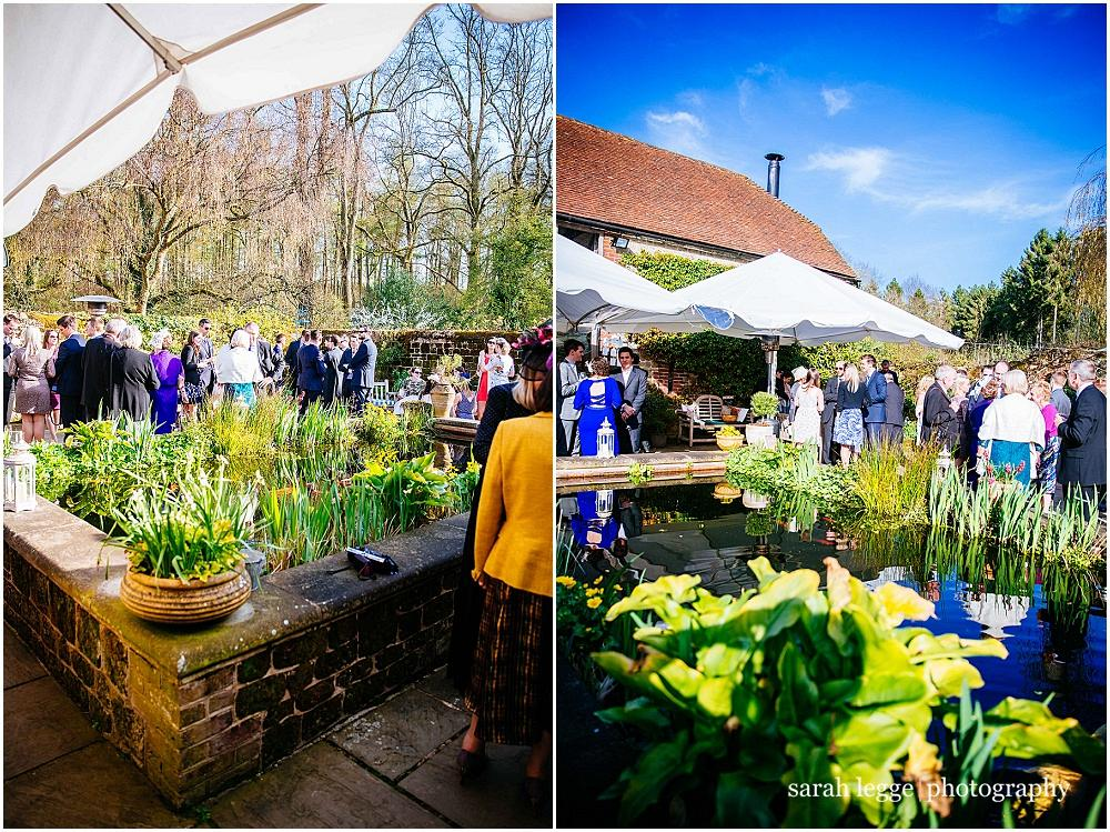Sussex barn wedding in the sunshine