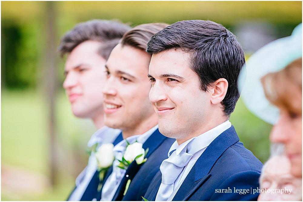 Proud brothers of the bride