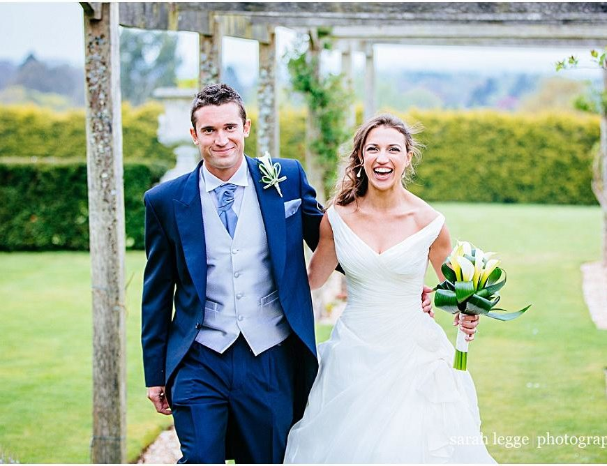 Surrey Wedding Photographer – Emily and James tie the knot at Cain Manor