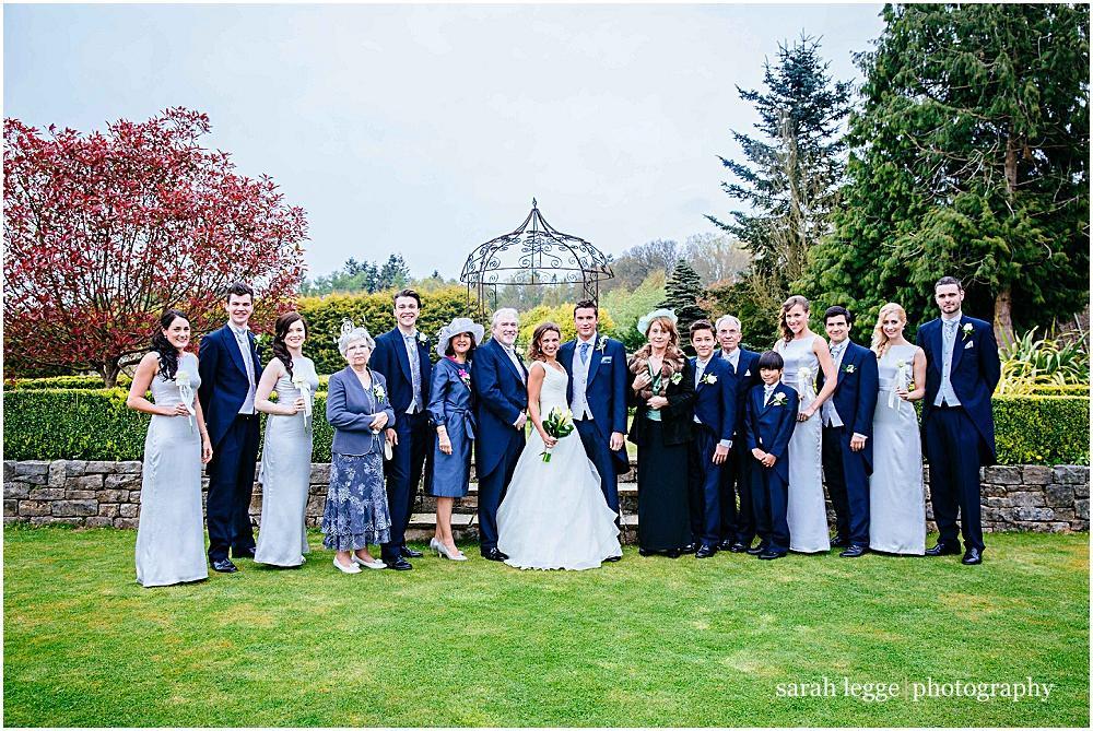 Wedding photographs - the formals
