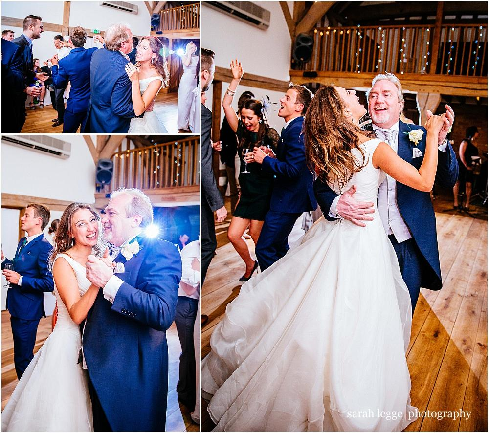 Bride and father dance to my girl