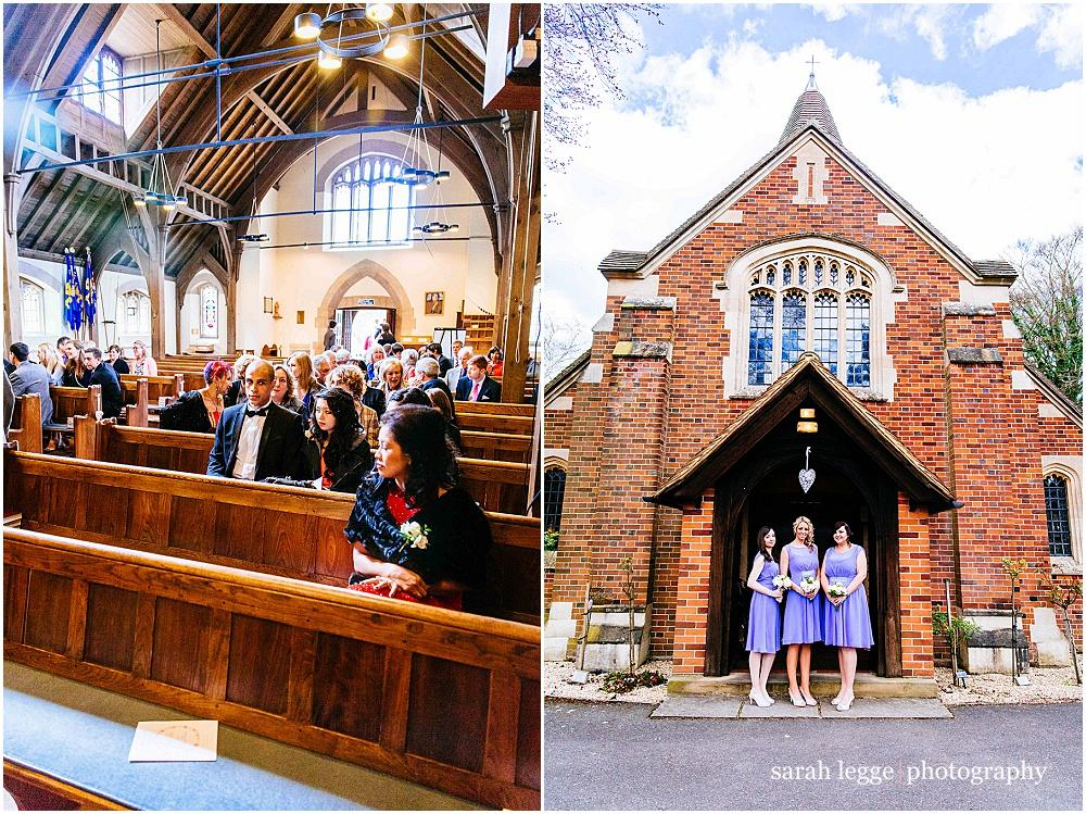 Frimley green church wedding
