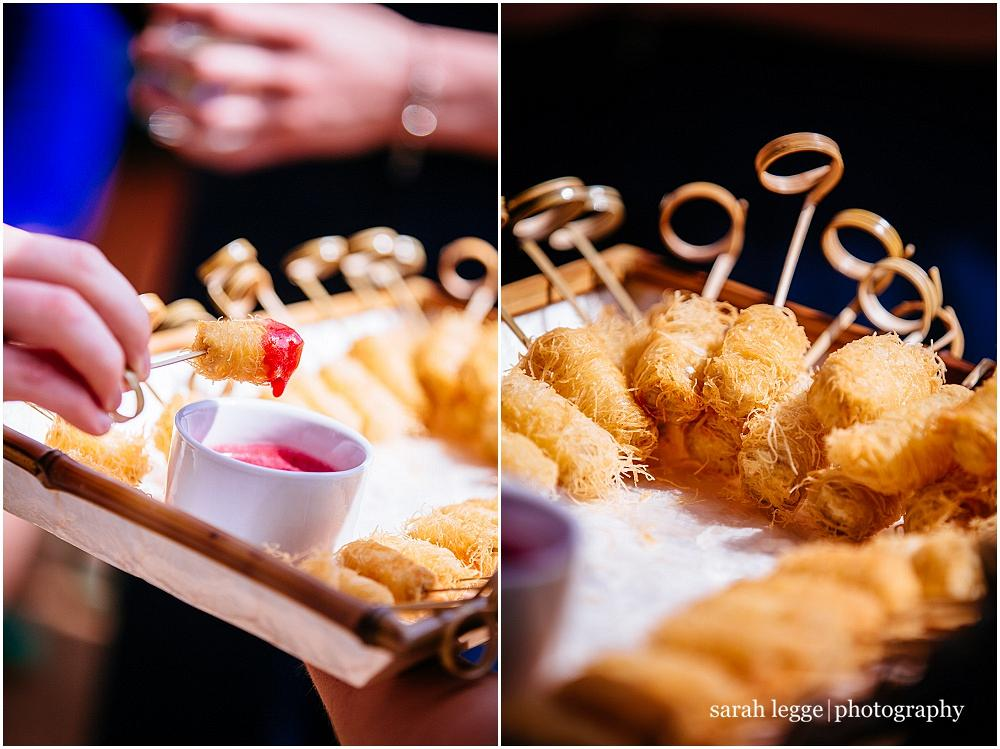 Canapes by Jacaranda catering