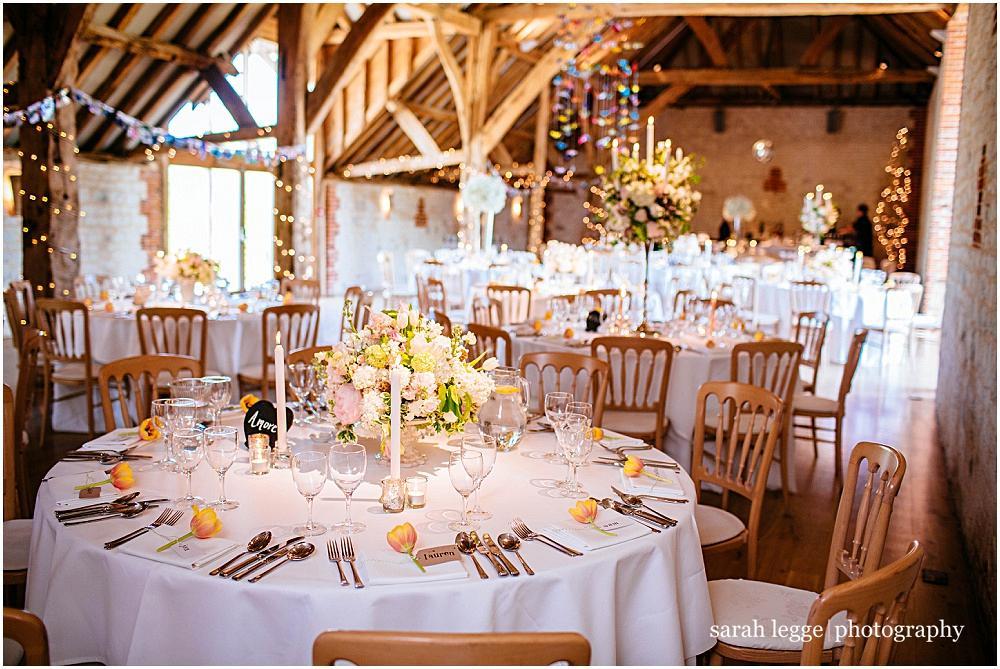 Bury court tables for wedding breakfast
