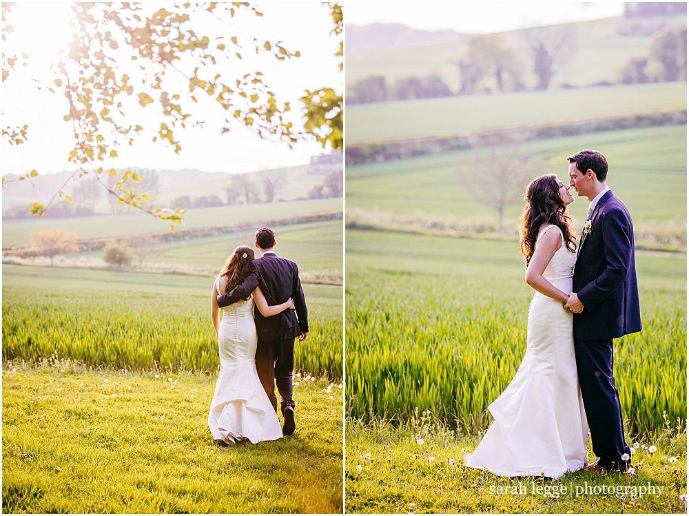 Golden hour couple photographs