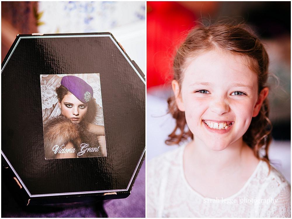 Victoria Grant hat box
