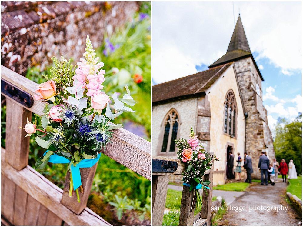 Holybourne church wedding