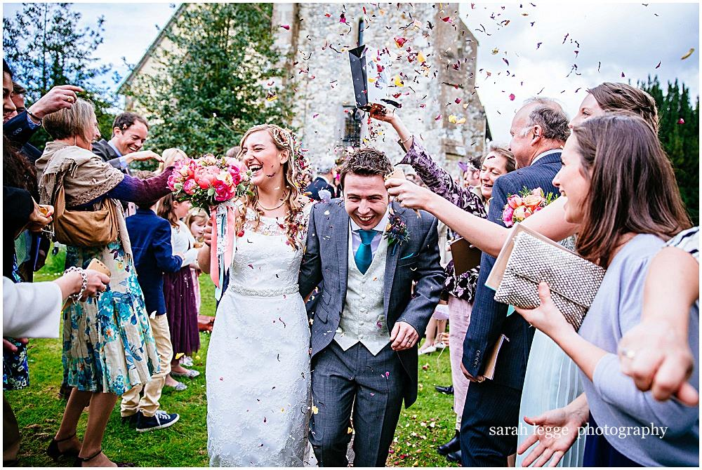 Hampshire Wedding Photographer – Jess and Pete's Bonhams Barn Wedding