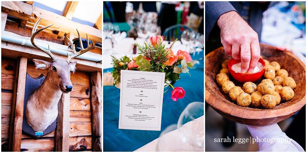Bonham's Barn wedding details