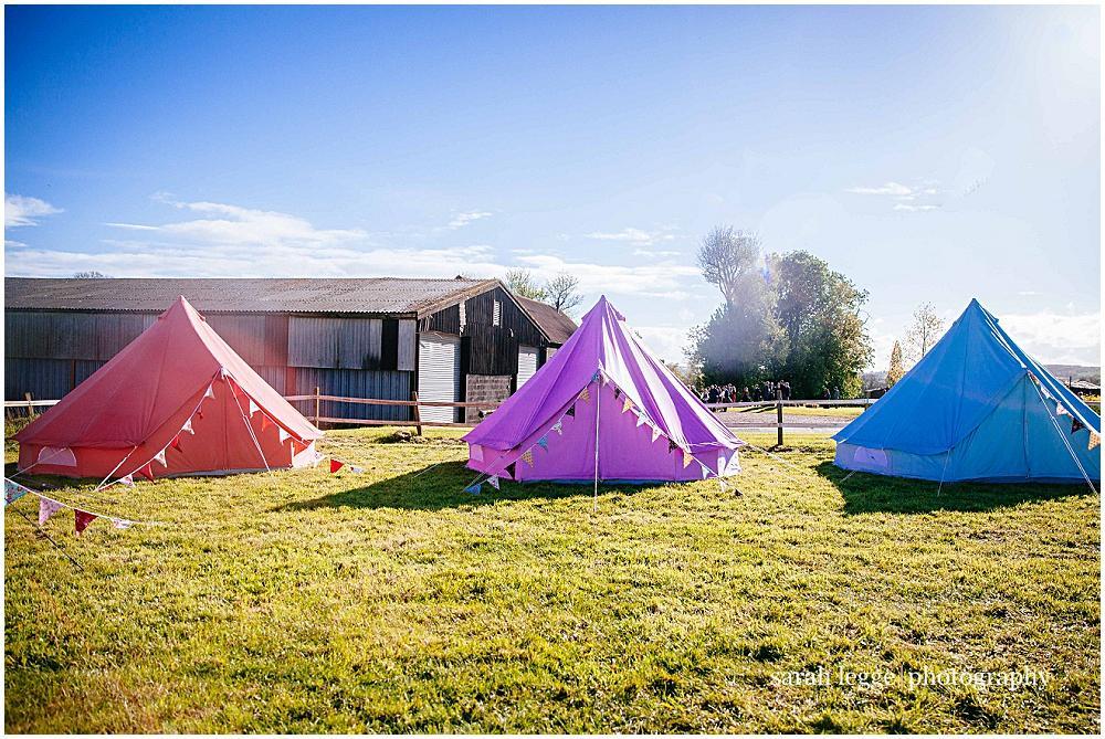 Pretty wedding tents