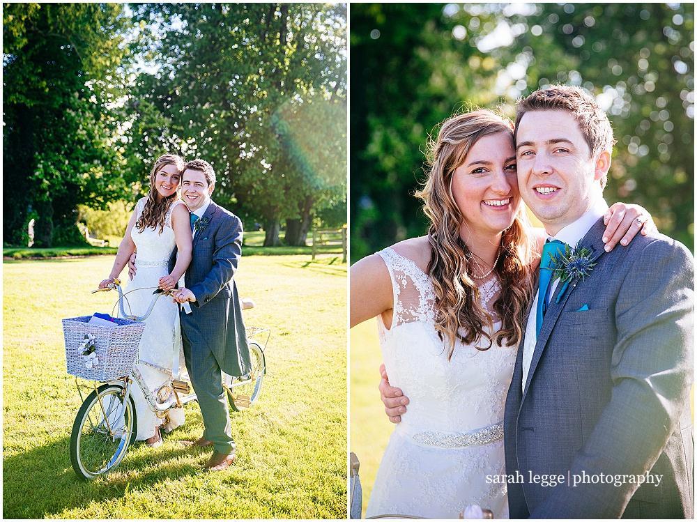 Gorgeous newlyweds
