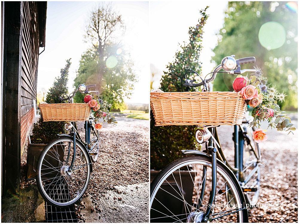 Vintage bicycle prop