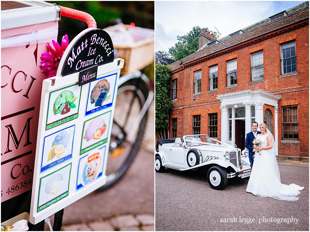Capel manor wedding