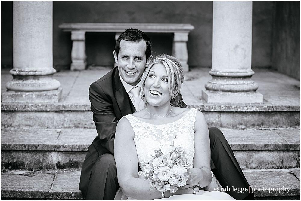 Newlyweds in capel manor temple