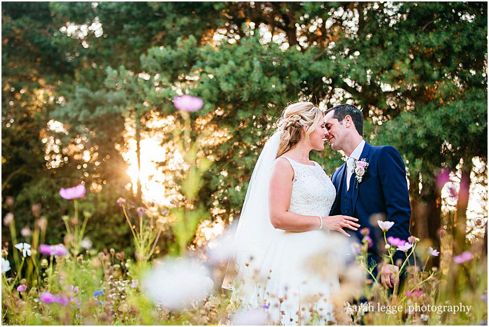 Capel manor wedding photographs