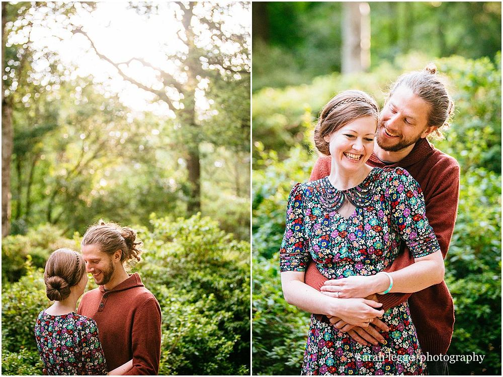 Richmond Park Engagement Photoshoot – Ellie & Matt