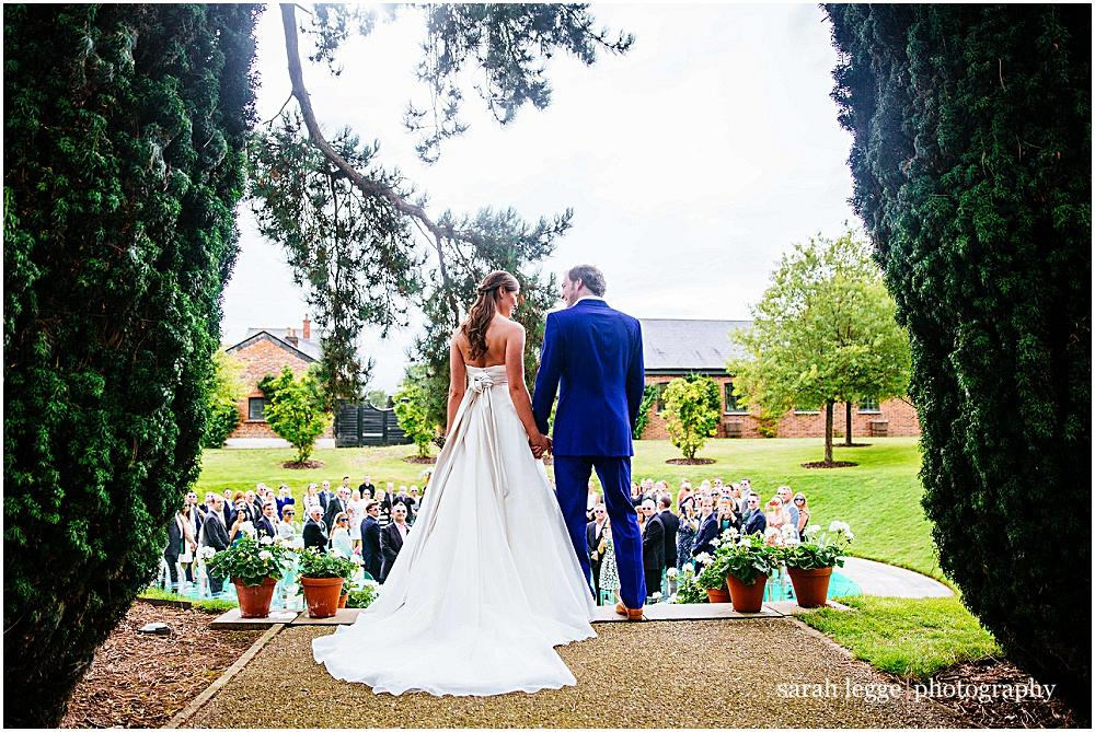 outdoor hertfordshire wedding at the grove by sarah legge