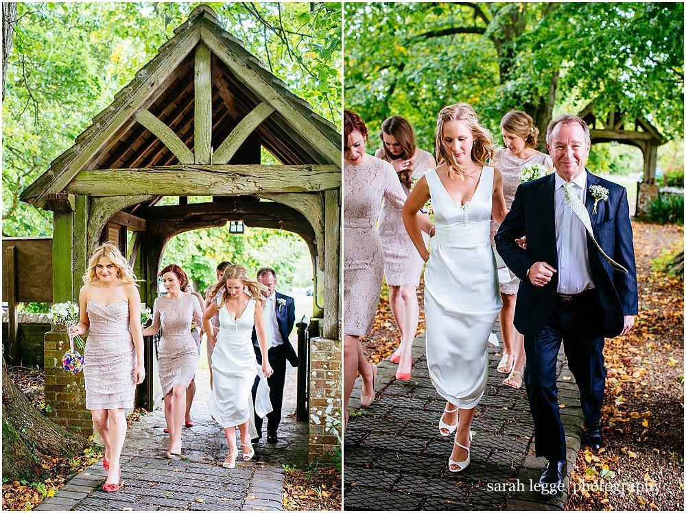 Kirdford chuch wedding