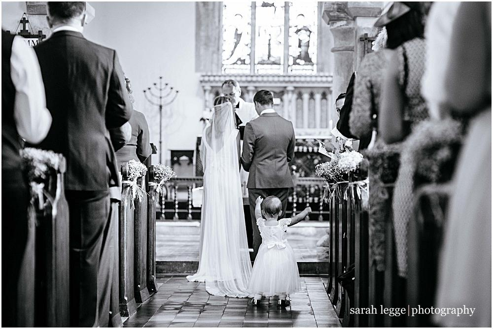 Sussex church wedding ceremony