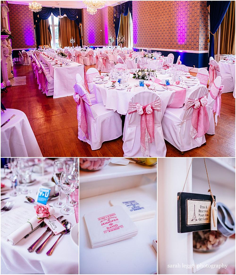 Easthampstead park wedding breakfast