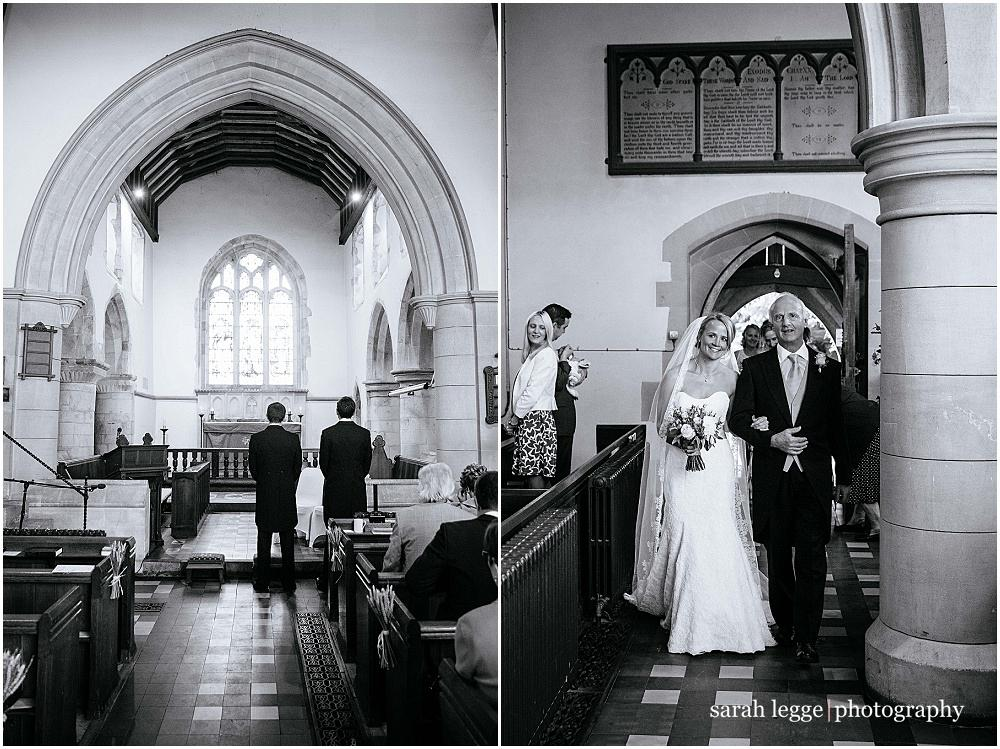 St Marys Church bentley wedding