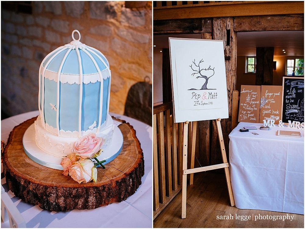 Birdcage wedding table