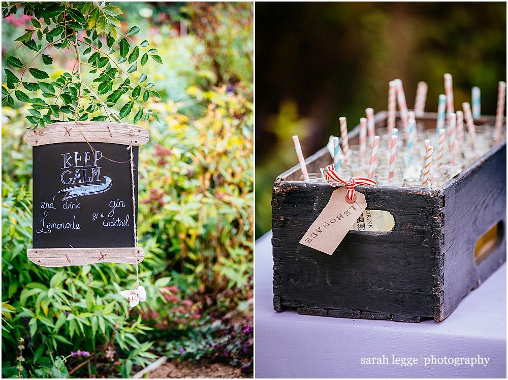 Wedding details at bury court barn