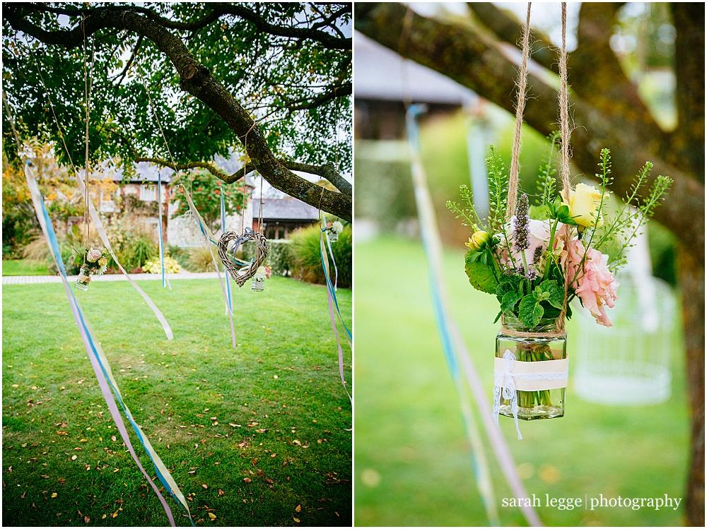 Ribbon tree wedding decorations