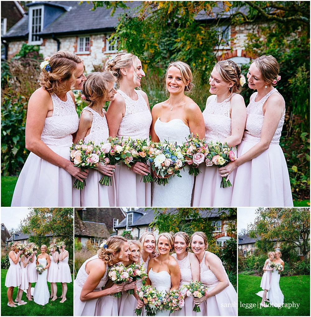 Group photographs at bury court barn