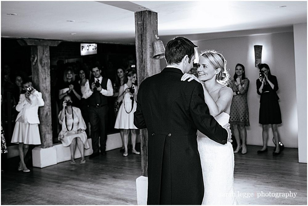First dance at bury court