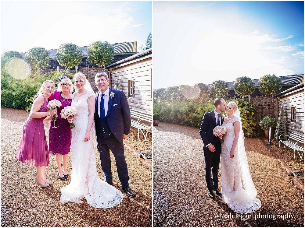 Surrey wedding photography in the autumn