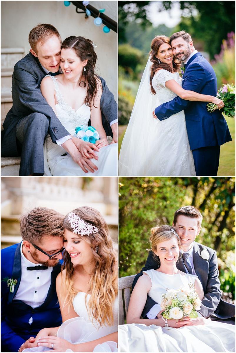 Gorgeous wedding couples