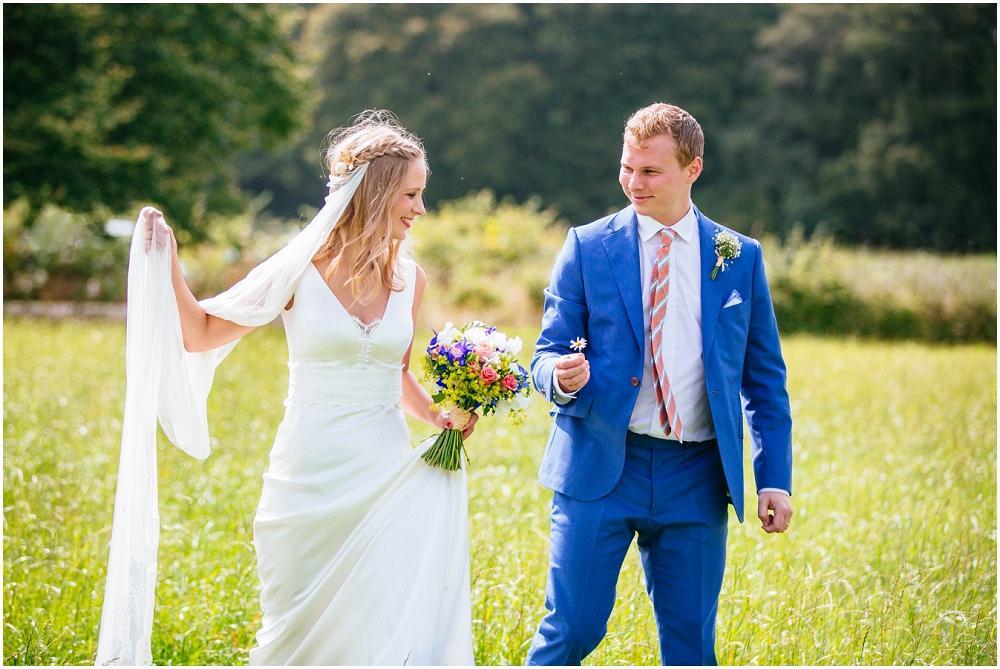 Bride and groom at batholomew barn