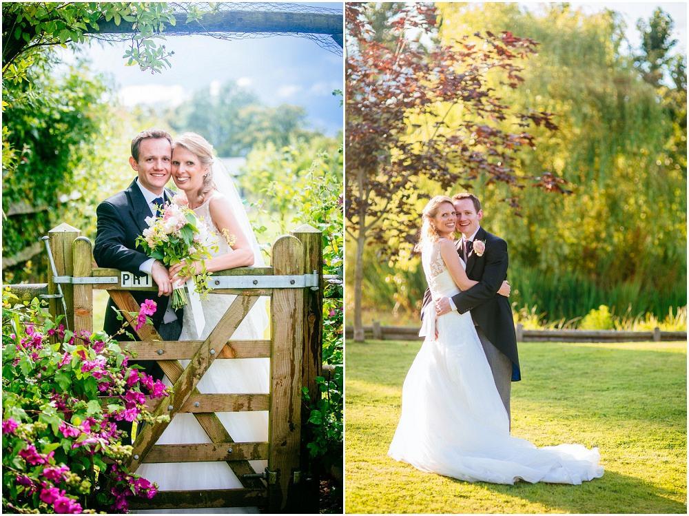 Sussex wedding bride and groom