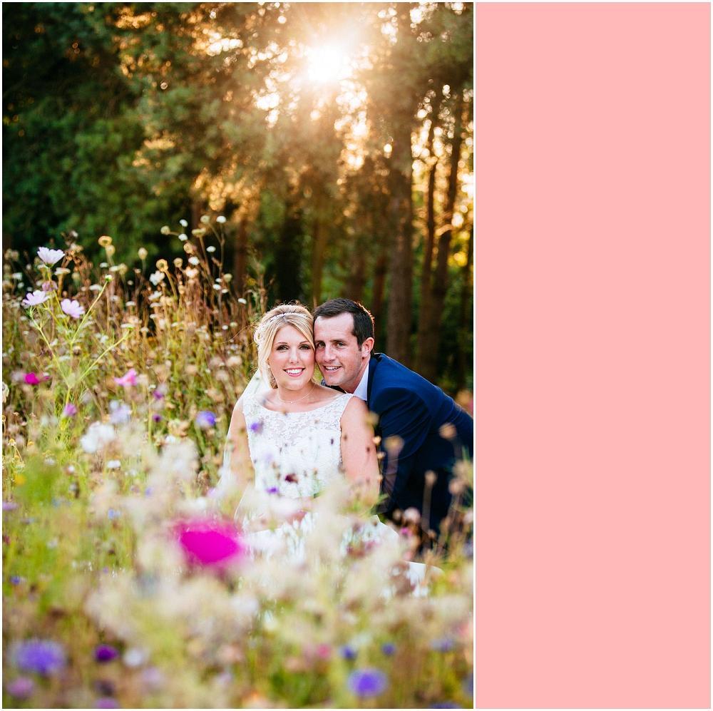 Capel manor wedding meadow photograph
