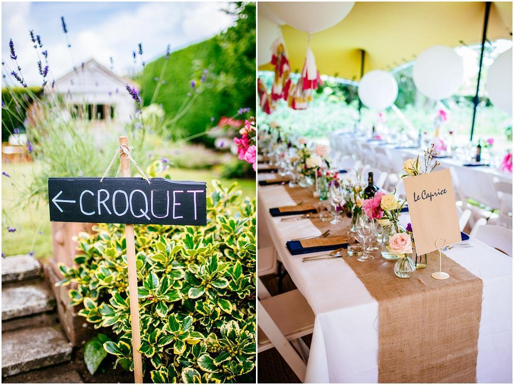 Wildflower wedding details