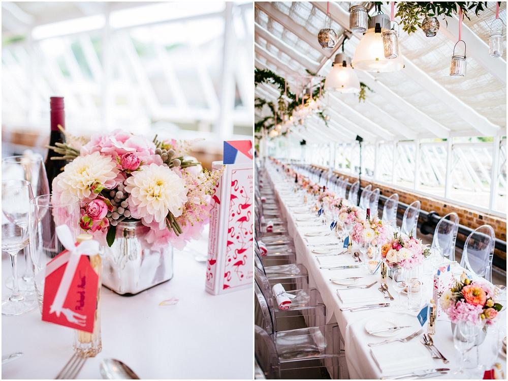 The grange conservatory wedding details