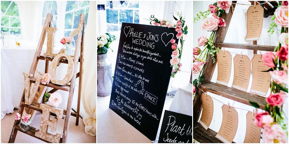 Capel manor wedding details