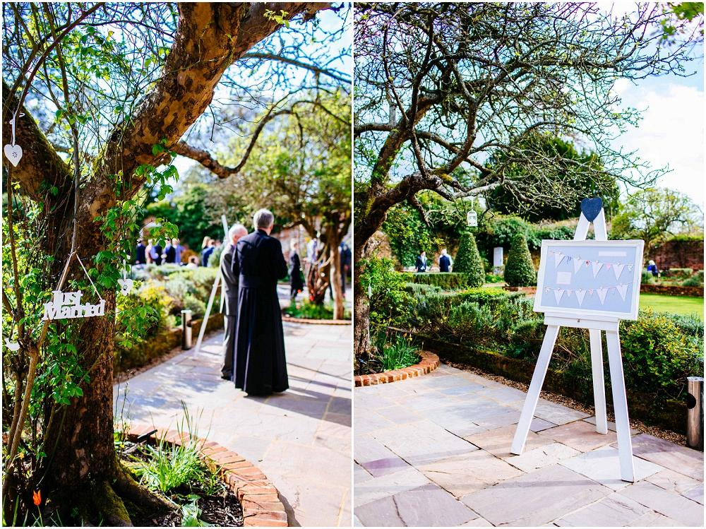 Northbrook park sunny wedding