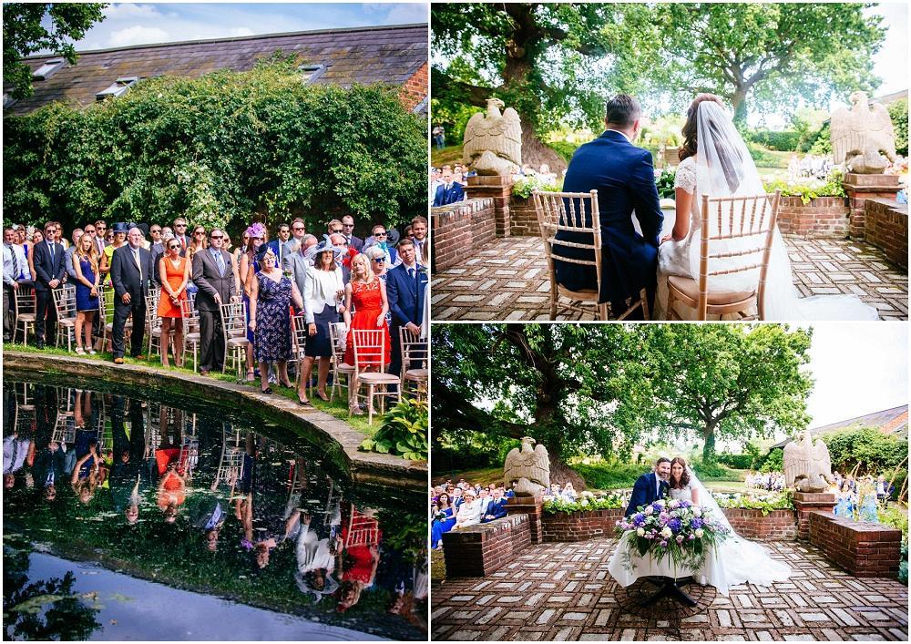 Micklefield hall wedding ceremony