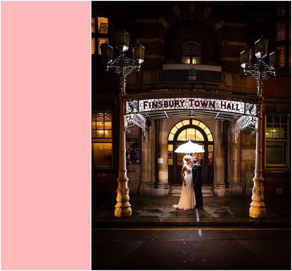 Old finsbury town hall wedding photographer