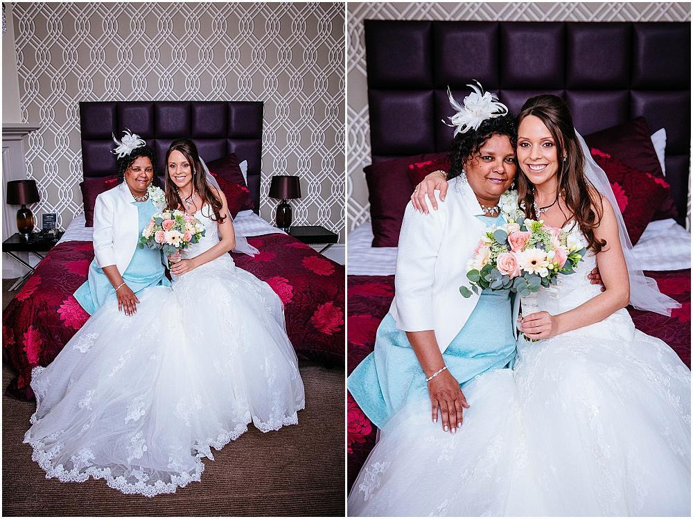 Bride an dmum