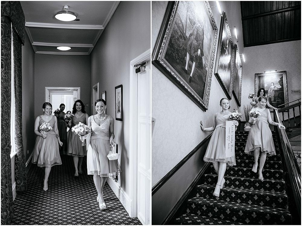 Bridesmaids in Wotton House