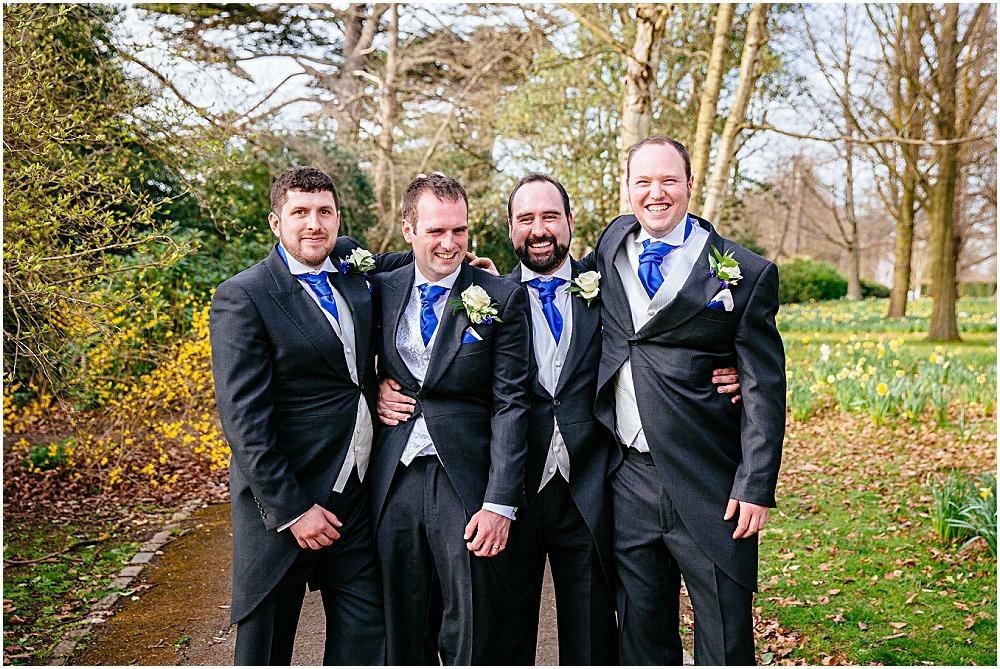 Groom and ushers photograph
